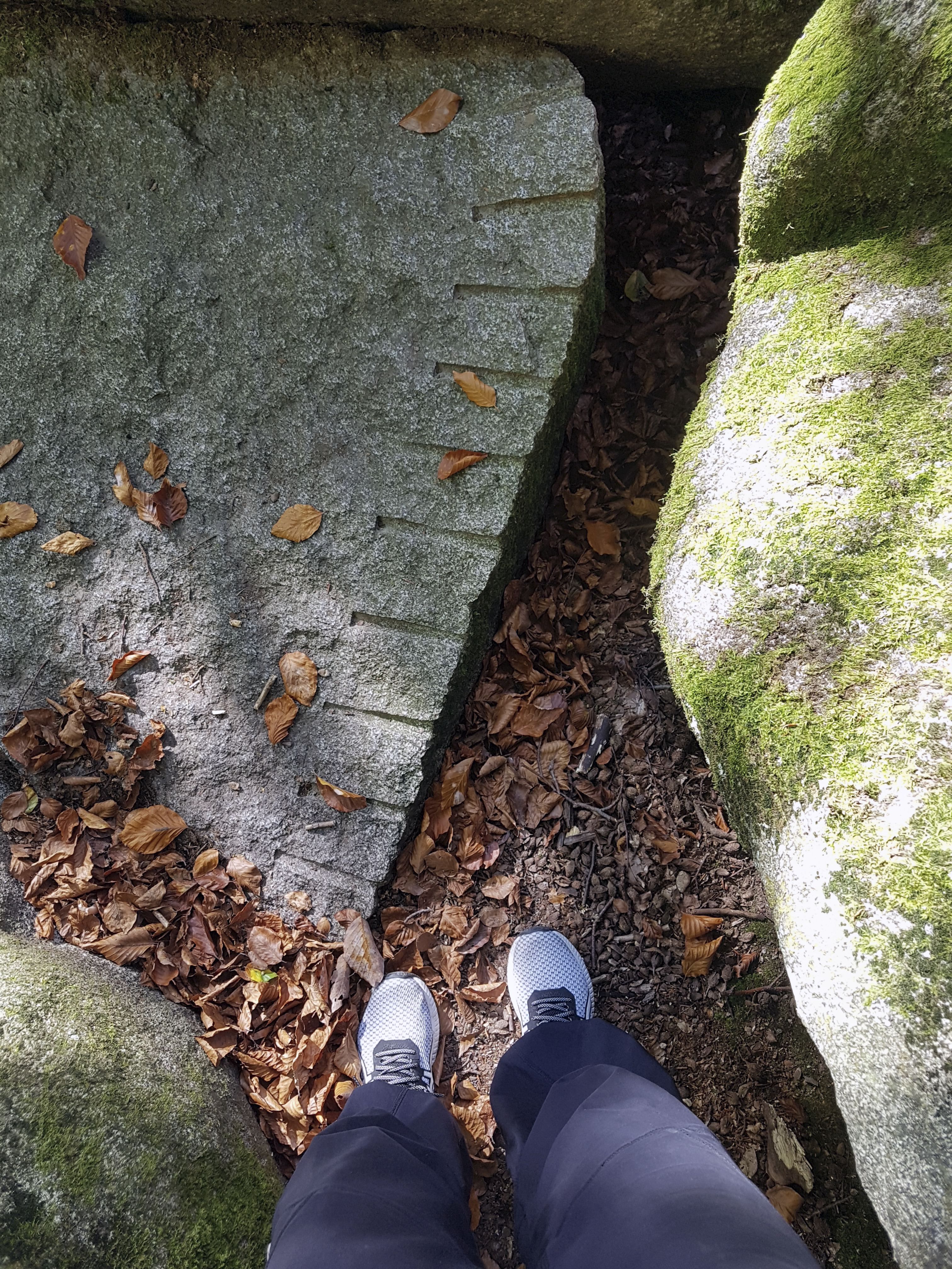 Felsenmeerin louhittu kivi