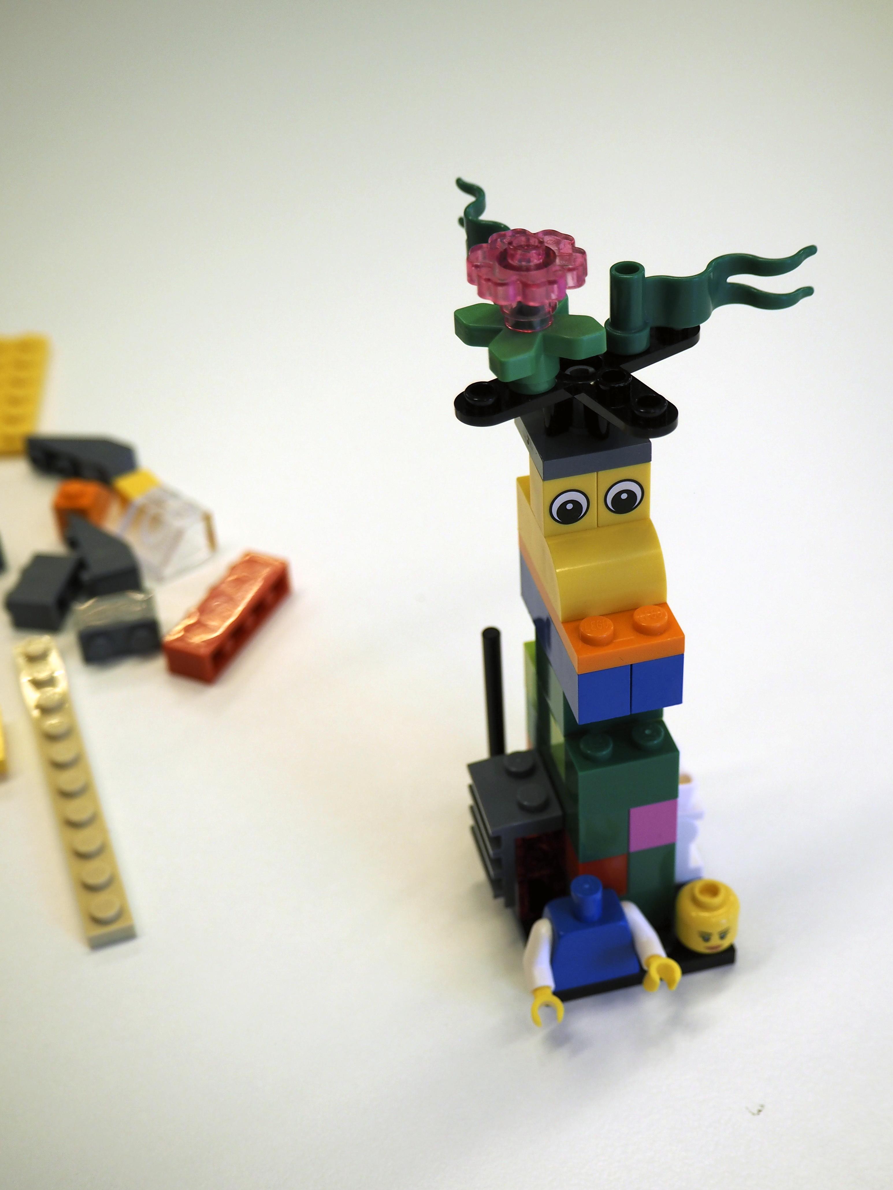 Lego Serious Play - Hei olen myös Torni!