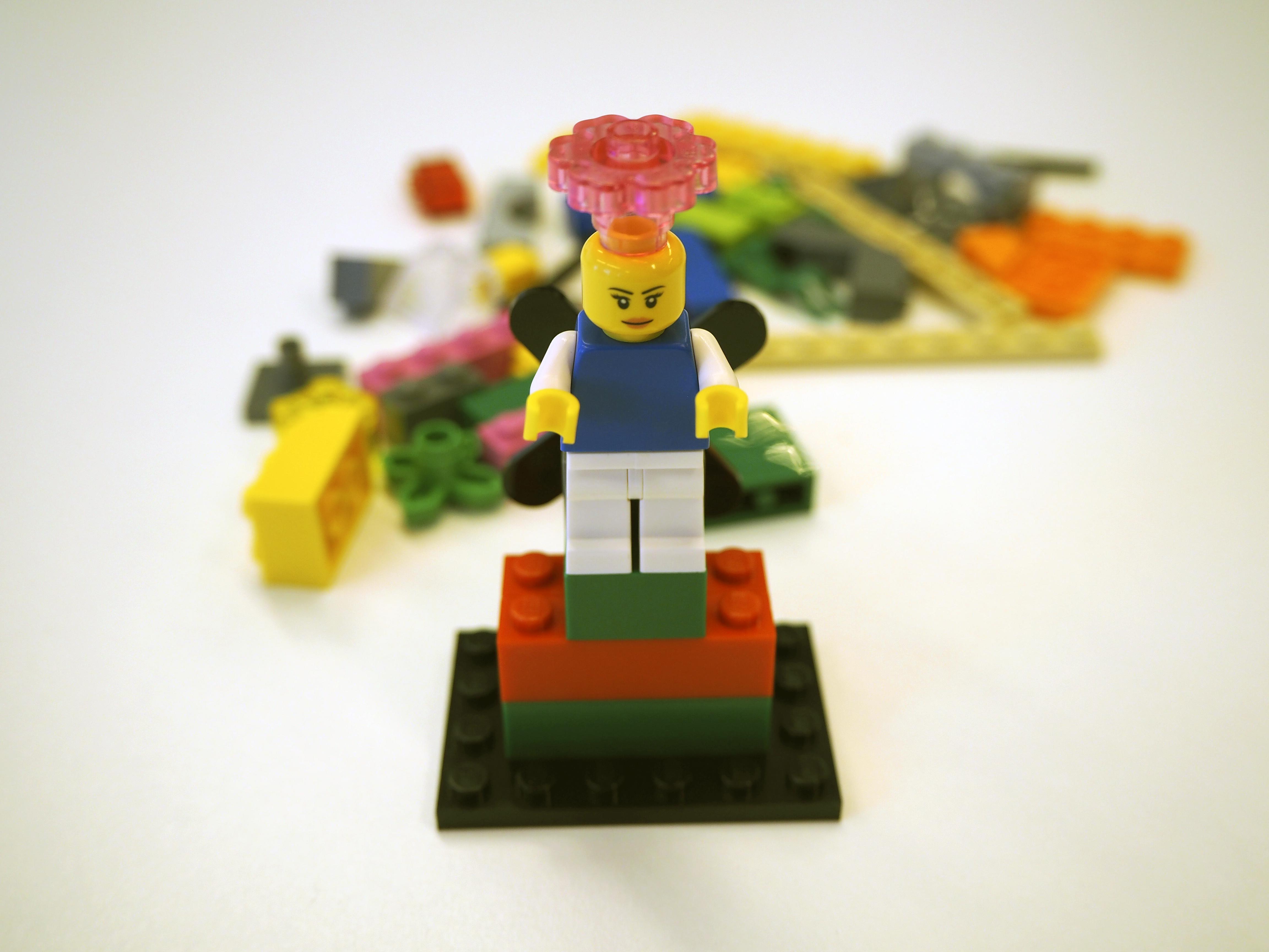 Hei olen Lego Seriousplay torni!