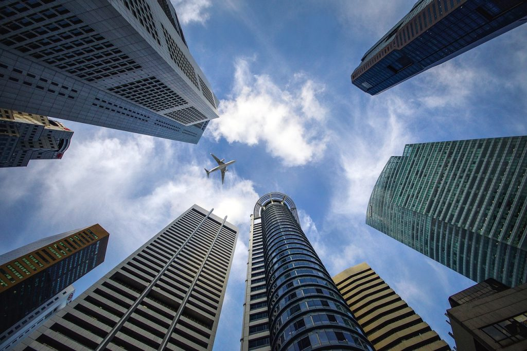 Singaporen pilvenpiirtäjiä